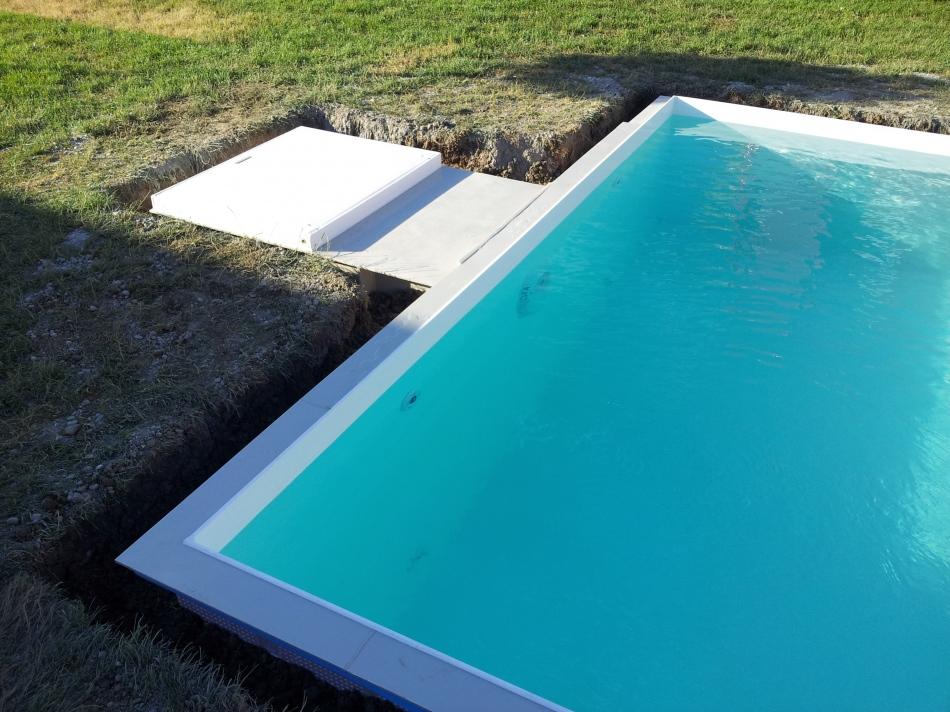 Plastové Bazény Obdélníkové Do Země Bazény Machov