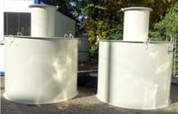 Trzykomorowy zbiornik bezodpływowy - szambo