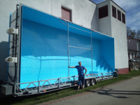 Obdélníkový bazén 10 x 3,95 x 1,5 m Praha (pl)