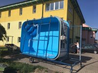 Obdélníkový bazén 4 x 2,8 x 1,2 m Dobruška (pl)