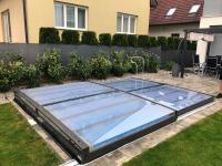 Zastřešení bazénu Terra 4,2 x 4 x 0,25 m Praha (pl)