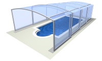 Zadaszenie basenu Vision