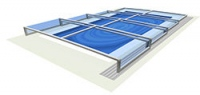 Zadaszenie basenu Terra