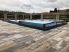Zastřešení bazénu Terra 6,45 x 3,25 x 0,31 m Praha (pl)
